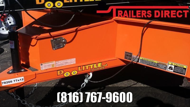 2019 Doolittle Trailer Mfg 77 x 12 Utility Trailer