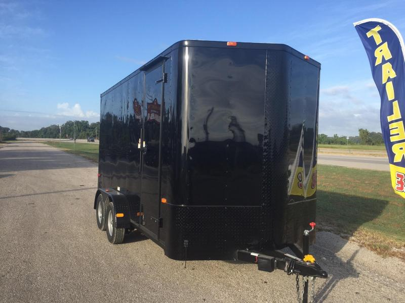 2017 cargo craft 7x12 enclosed cargo trailer texas custom 2017 cargo craft 7x16 extra tall enclosed cargo trailer