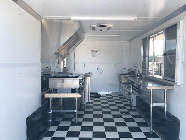 2017 8.5 x 16 CONCESSION / FOOD TRAILER