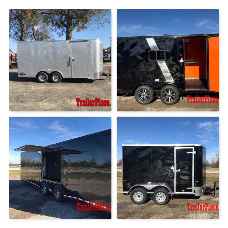 2018 Cargo Craft Enclosed Trailers