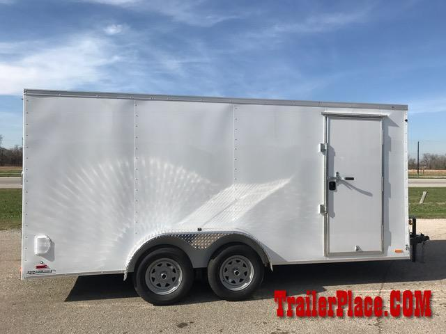 2018 Continental Cargo 7 x 16 Enclosed Cargo Trailer