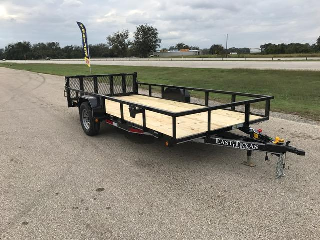 2018 East Texas 77x14 Utility Trailer