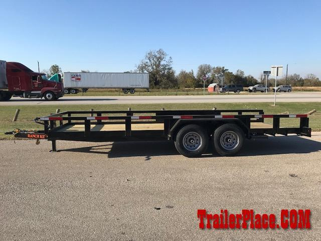 "2018 Ranch King 6'10"" x 20' Utility Trailer"
