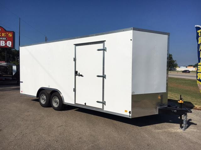 2018 Continental  8.5x24 Enclosed Cargo Car Trailer