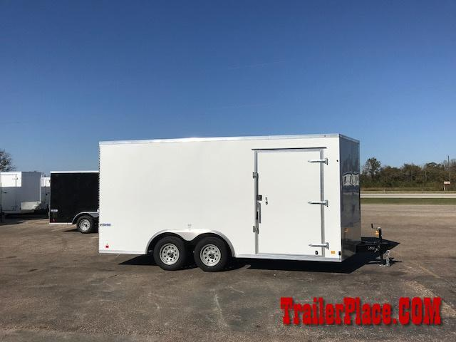 2018 Continental  8.5x16 Enclosed Cargo Car Trailer
