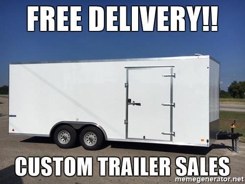 2018 Continental  8.5x20 Enclosed Cargo Car Trailer
