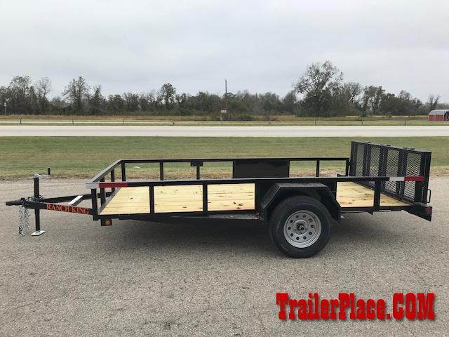 "2018 Ranch King 6'10"" x 12 Utility Trailer"