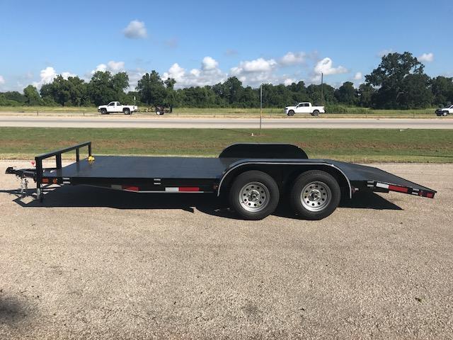 2018 Custom Trailer Sales 83X18 Car/Equipment Trailer