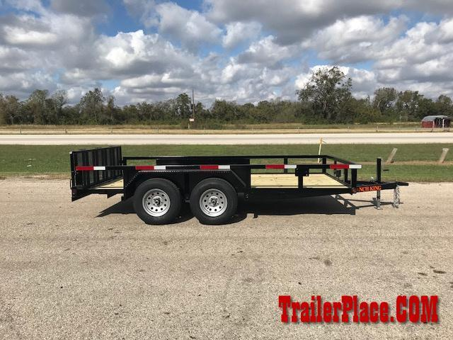"2018 Ranch King 6'10"" x 14 Utility Trailer"