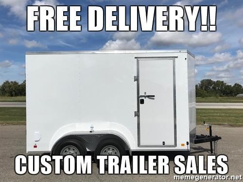 2018 Continental Cargo 6x12 Enclosed Trailer