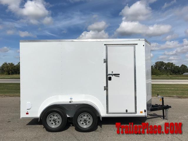 2018 Continental Cargo 6x12 Enclosed Trailer