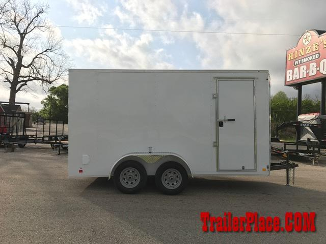 2018 Continental Cargo 7x14 Enclosed Trailer