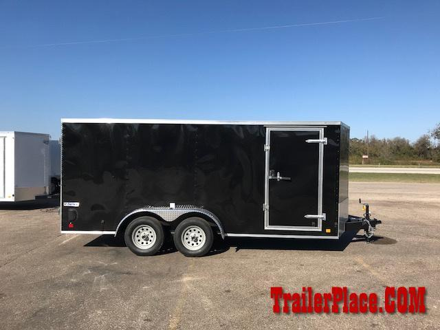 2018 Continental Cargo 7x16 Enclosed Trailer
