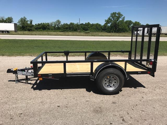 2018 Custom Trailer Sales 5 x 10 Utility Trailer