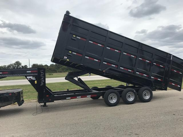 2018 East Texas 7 x 20 GN Dump Trailer