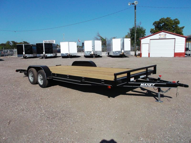 2016 Maxey 83x20 Car / Racing Trailer