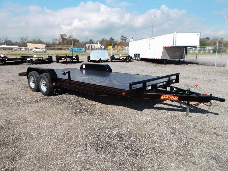 2019 Maxxd 83X20 10K Steel Deck Car Hauler / Racing Trailer / Powder Coated / 5200# Axles / Dovetail
