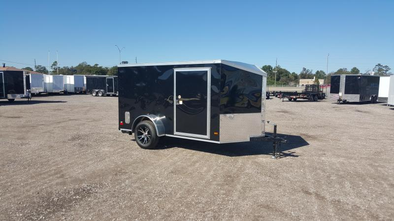 2016 Covered Wagon Trailers 6x10 Low Profile Motorcycle Trailer