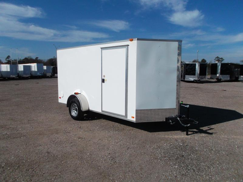 2017 Covered Wagon Cargo Trailers 6x12 Single Axle Cargo / Enclosed Trailer