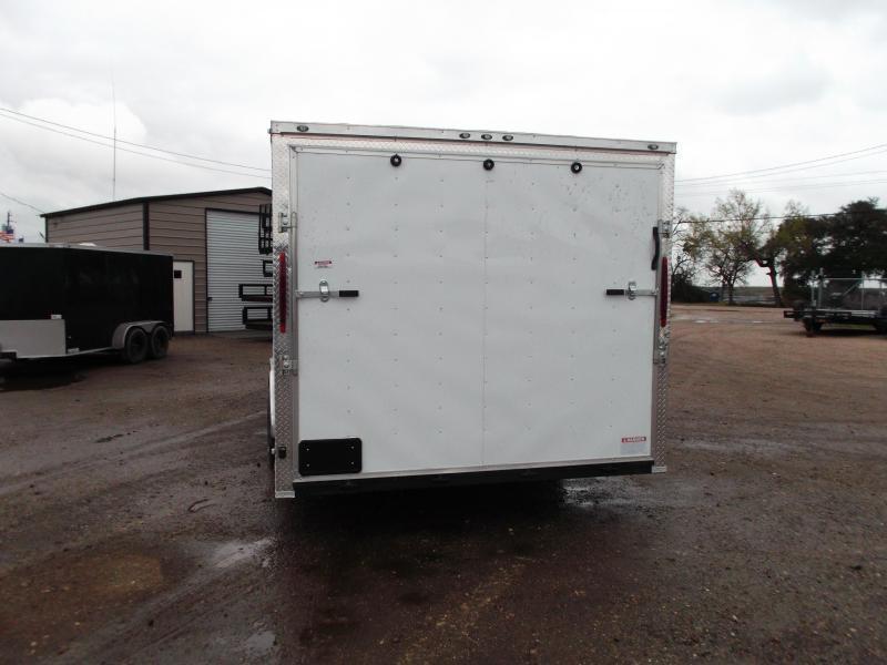 SPECIAL - 2019 Texas Select 8.5x20 Tandem Axle Cargo Trailer / Car Hauler / 3500# Axles / Heavy Duty Ramp / LEDs