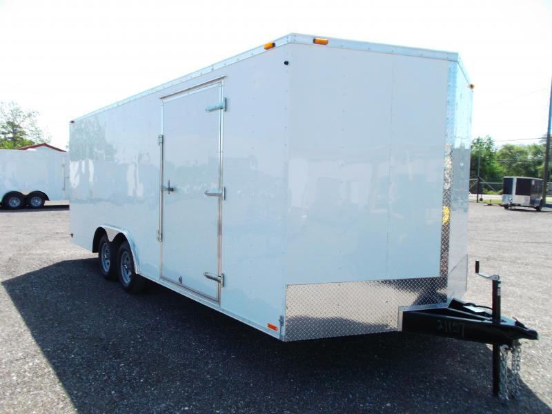 2014 Continental Cargo 8.5x20 Tandem Axle Cargo / Enclosed Trailer