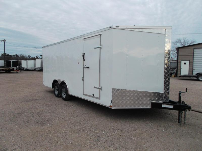 2018 Lark 8.5x18 Tandem Axle Cargo Trailer / Car Hauler / Ramp