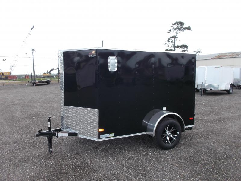 2016 Covered Wagon Trailers 5x8 Cargo / Motorcycle Trailer Enclosed Cargo Trailer