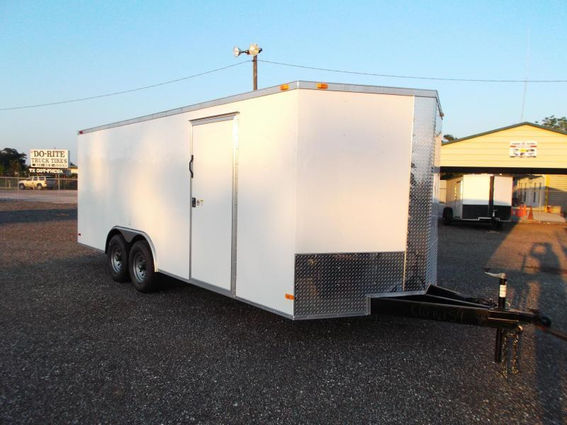 2015 Covered Wagon Trailers 8.5x20 Cargo / Enclosed Trailer w/ XXL Package