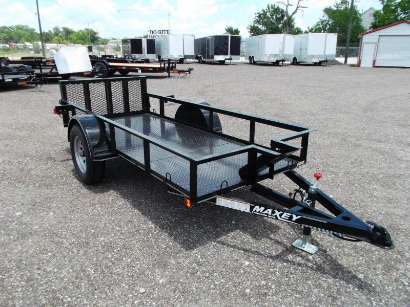 2015 Maxey 50x10 Motorcycle Trailer