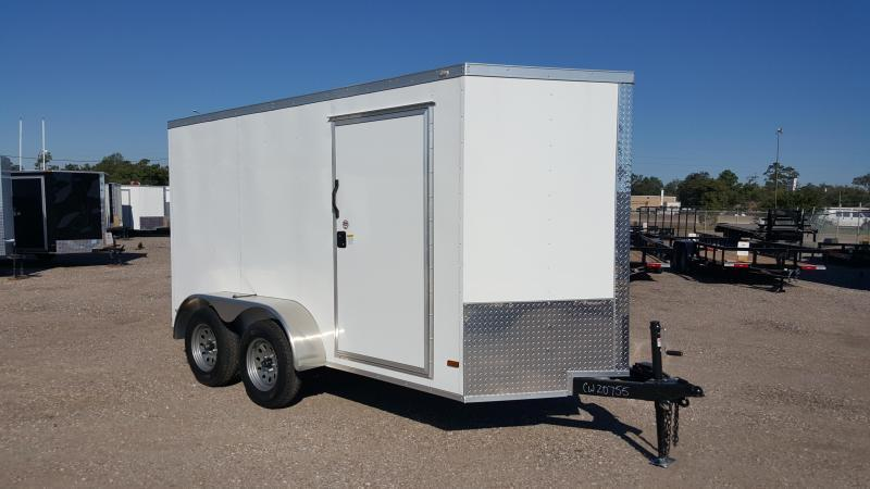 2016 Covered Wagon Trailers 6x12 Tandem Axle Cargo / Enclosed Trailer