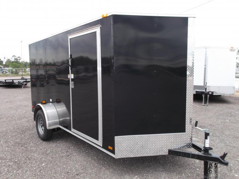 2017 Covered Wagon Cargo 6x12 Single Axle Cargo / Enclosed Trailer