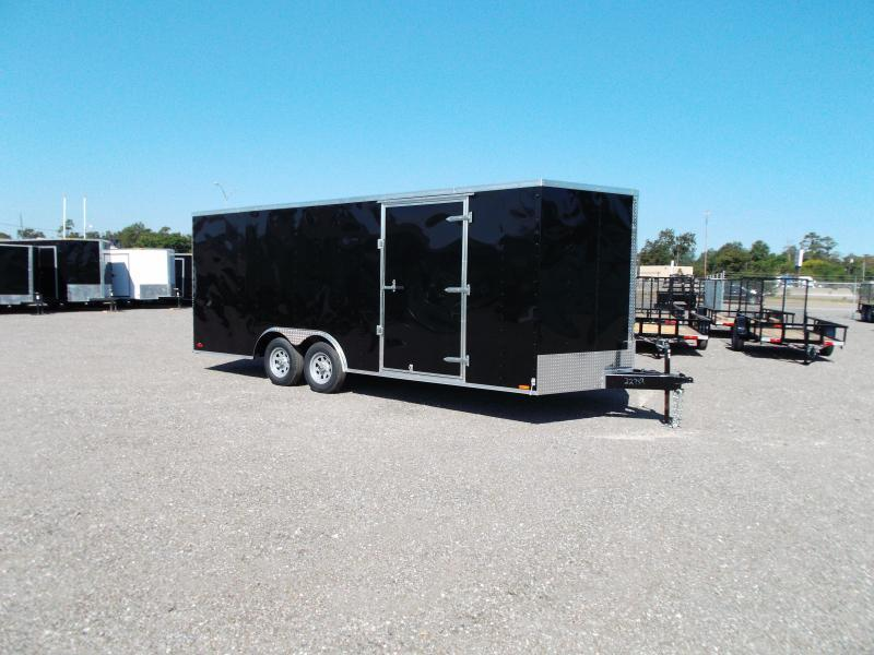 2016 Continental Cargo 8.5x20 Tandem Axle Cargo / Enclosed Trailer
