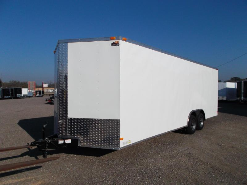 2015 Covered Wagon Cargo 8.5x24 Tandem Axle Cargo / Enclosed Trailer