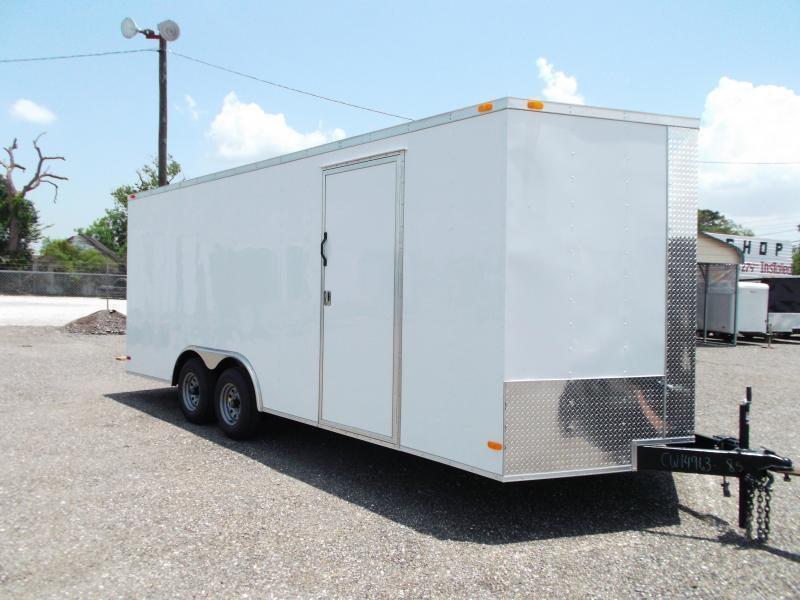 2015 Covered Wagon Trailers 8.5x20 Tandem Axle Cargo / Enclosed Trailer
