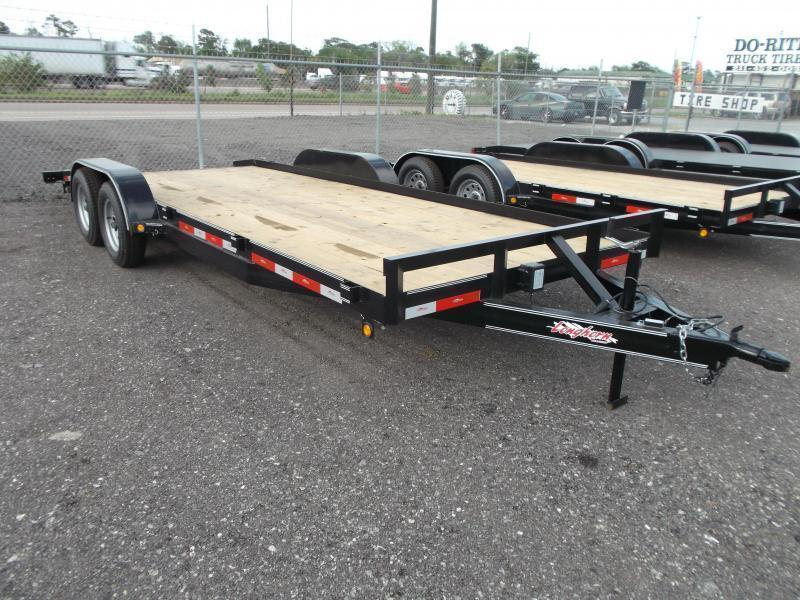 2015 Longhorn Trailers 20ft Tandem Axle 7K Car / Racing Trailer