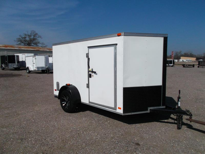 2013 Covered Wagon Trailers 6x10 Single Axle Motorcycle Trailer