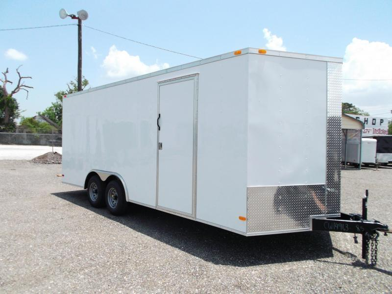 2016 Covered Wagon Trailers 8.5x20 Tandem Axle Cargo / Enclosed Trailer w/ 7ft Interior