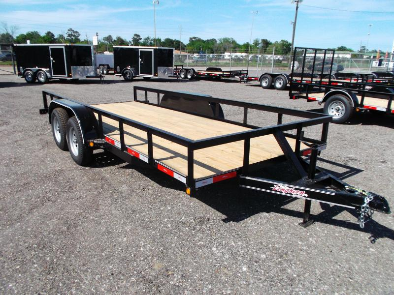 2014 Longhorn Trailers 16ft Tandem Axle Utility Trailer
