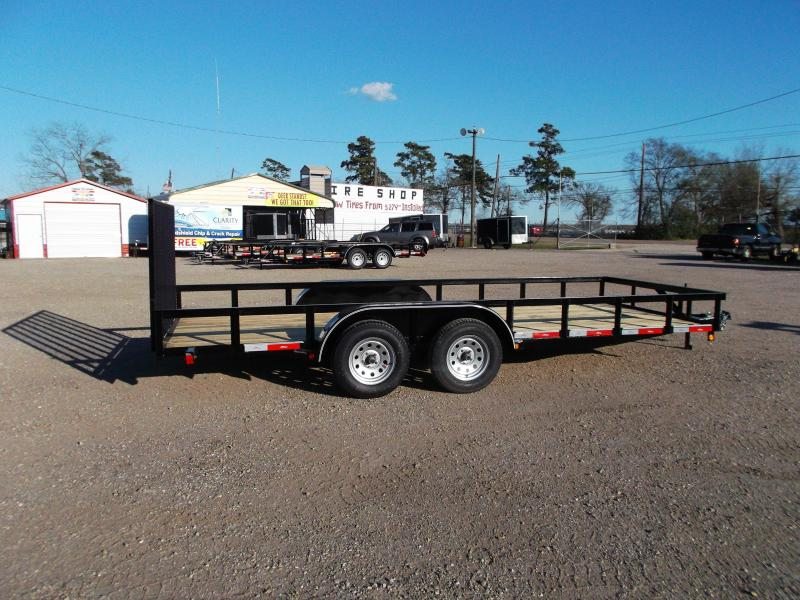 2016 Longhorn Trailers 18ft Utility Trailer w/ 4ft Heavy Duty Ramp