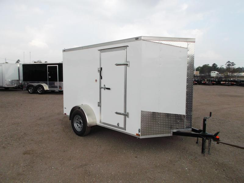 2018 Lark 6x10 Single Axle Cargo Trailer / Enclosed Trailer w/ Ramp