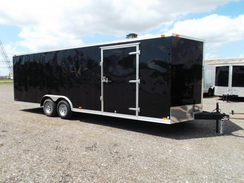 2016 Continental Cargo 8.5x24 Tandem Axle Cargo / Enclosed Trailer
