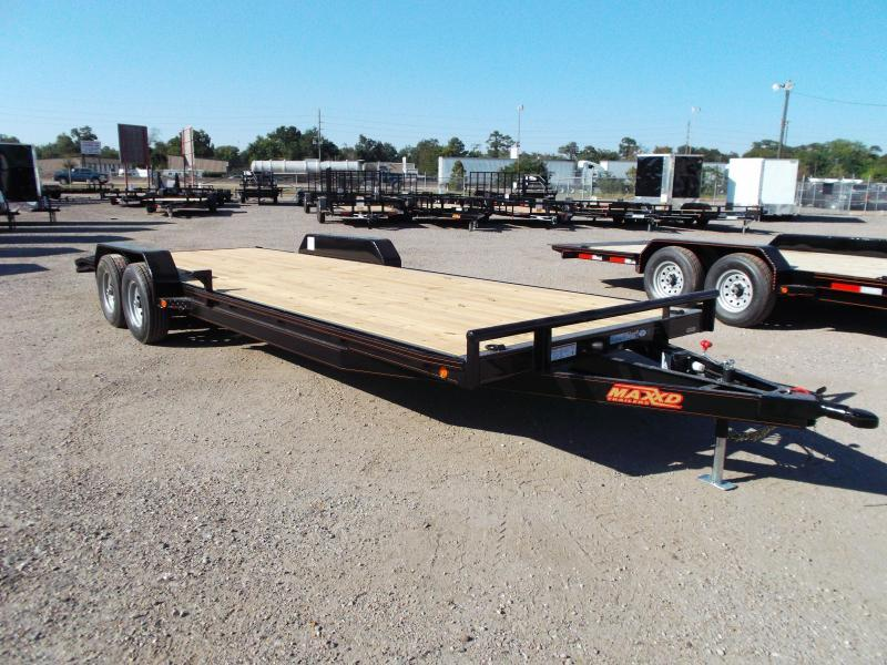 2016 Maxey 83X24 10K Car / Racing Trailer