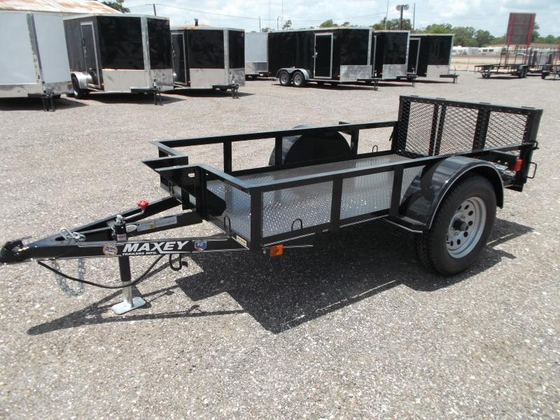2014 Maxey 50x8 Motorcycle Trailer
