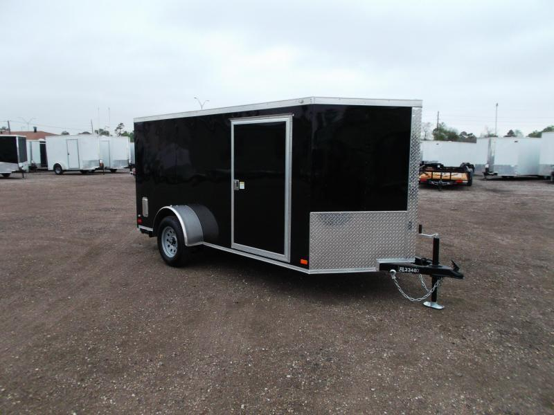 2016 Covered Wagon Trailers 6x10 Low Profile Motorcycle / Cargo Trailer