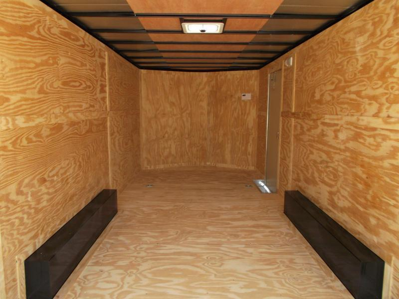 2020 Covered Wagon Trailers 8.5x20 Tandem Axle Cargo / Enclosed Trailer / 7ft Interior Height / 5200# Axles / Ramp / RV Side Door / LEDs