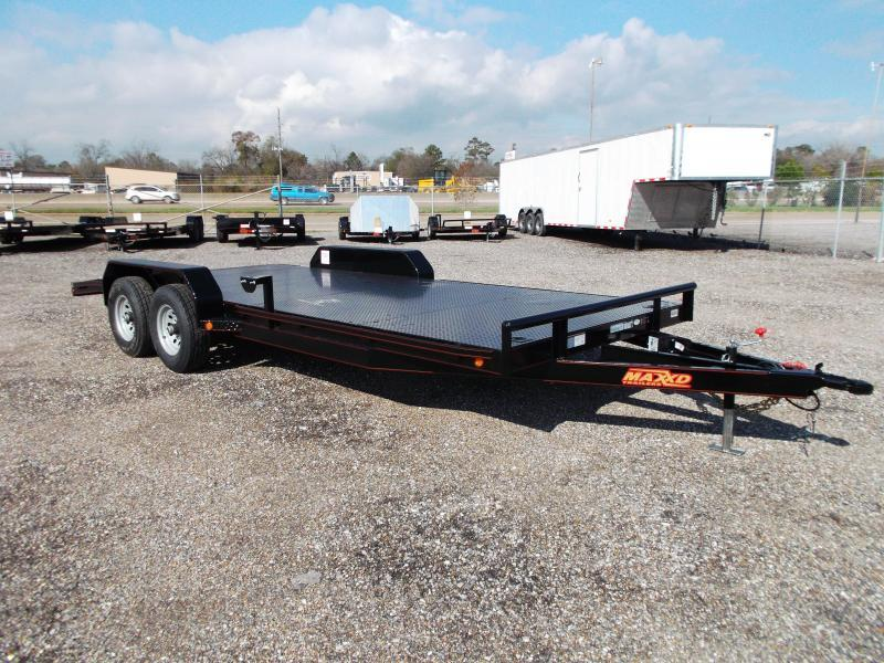 2016 Maxey 83X20 10K Steel Deck Car / Racing Trailer