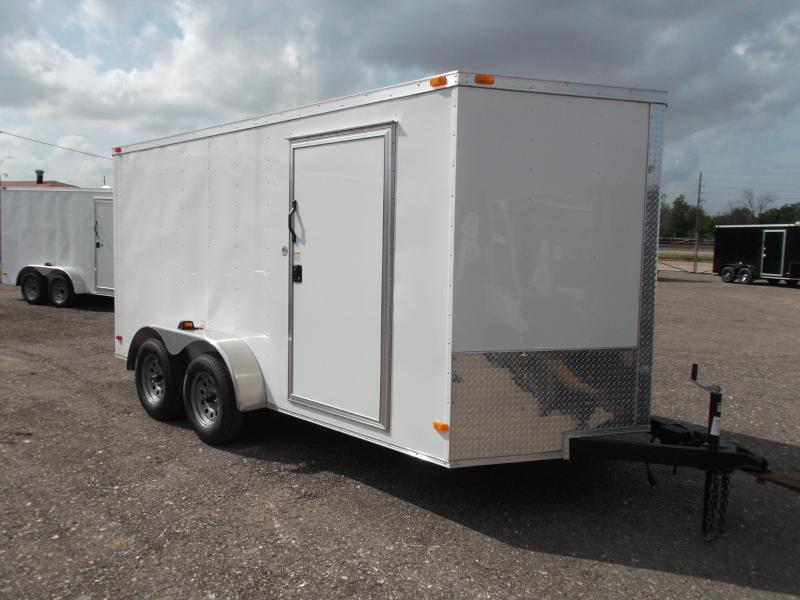 2014 Covered Wagon Trailers 7x14 Tandem Axle Cargo / Enclosed Trailer