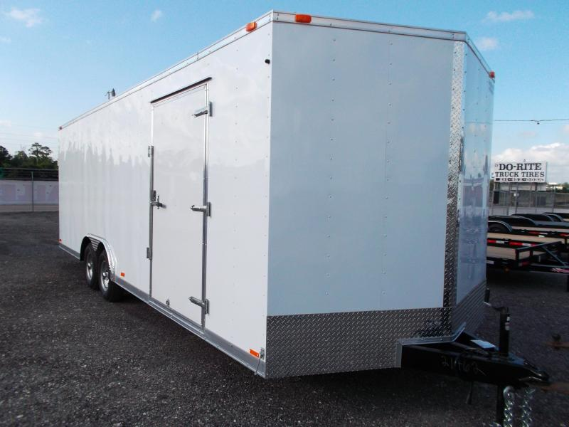 2014 Continental Cargo 8.5x24 Tandem Axle Cargo / Enclosed Trailer