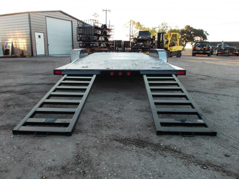 2019 Maxxd 83X20 10K N5X Steel Deck Car Hauler / Racing Trailer / 5200# Axles / Powder Coated / All Tubing Frame / LEDs