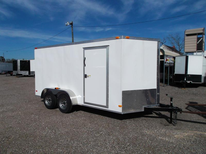 2016 Covered Wagon Trailers 7x14 Cargo / Enclosed Trailer